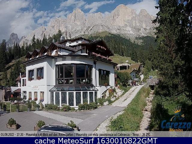 webcam Carezza Hotel Bolzano