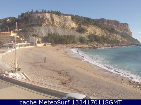 webcam Les Calanques Cassis Var