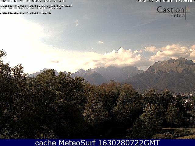 webcam Castion Belluno
