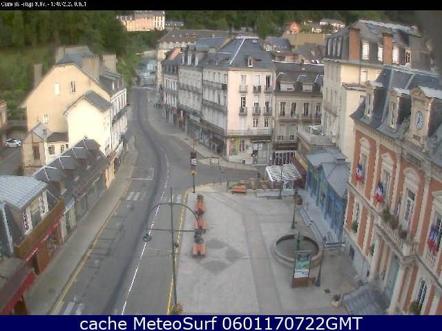 webcam Cauterets Hautes Pyrénées