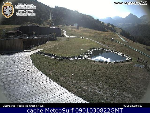 webcam Champoluc Ski Valle d Aosta