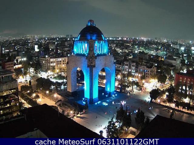 webcam Ciudad de México Hotel Cuauhtémoc´