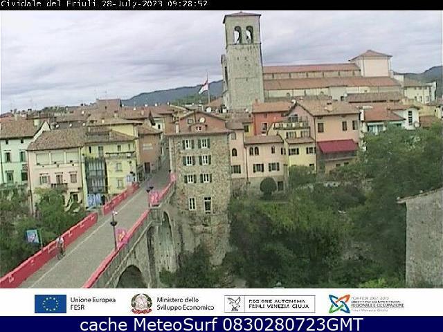 webcam Cividale del Friuli Udine