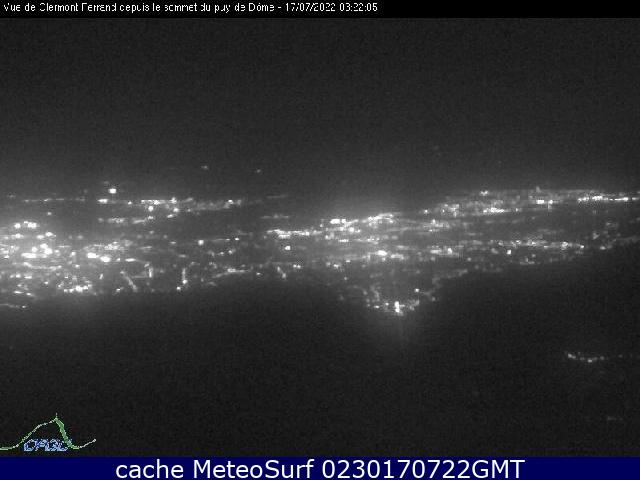 webcam Clermont Ferrand Puy de Dome
