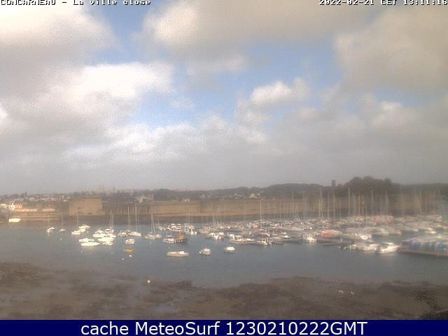 webcam Concarneau Finistère