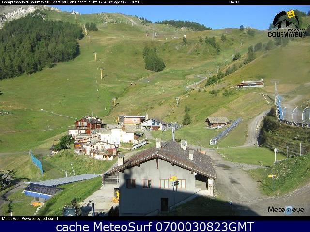 webcam Dolonne Courmayeur Ski Valle d Aosta