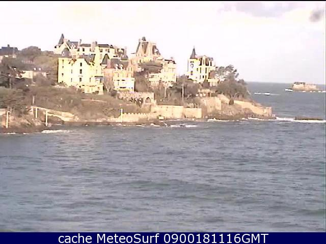 webcam Dinard Pointe Ille et Vilaine