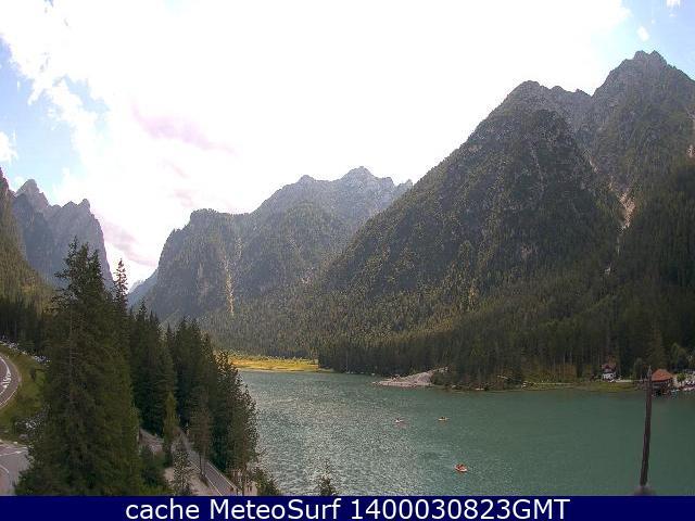 webcam Dobbiaco Lago Bolzano