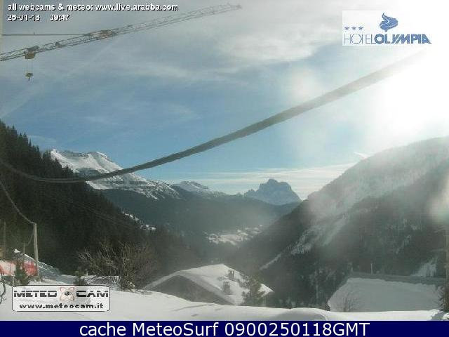 webcam Dolomiti Arabba Belluno