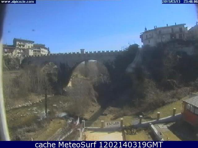 webcam Dronero Cuneo