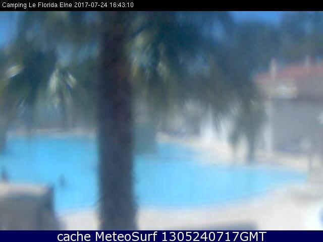 webcam Elne Camping Pyrénées Orientales