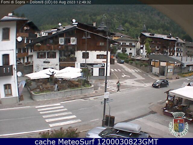 webcam Forni di Sopra Udine