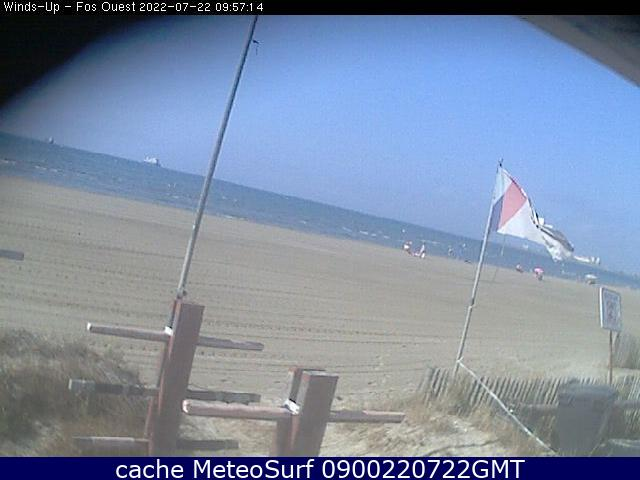 webcam Fos-sur-Mer Plage Bouches du Rhône
