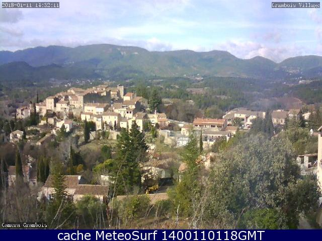 webcam Grambois Vaucluse