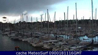 webcam La Trinité-sur-Mer Port Morbihan