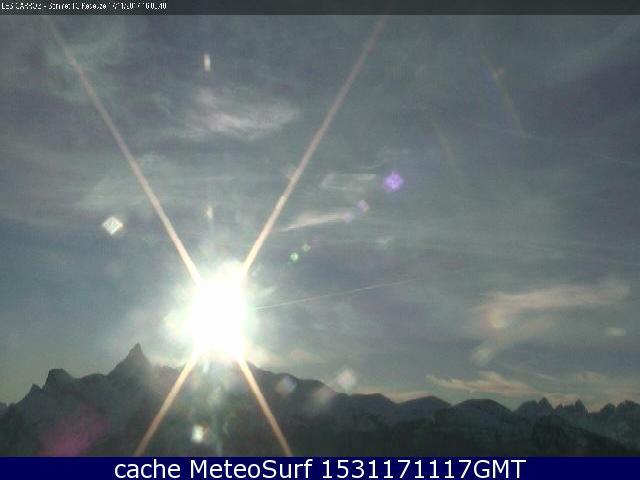 webcam Les Carroz Haute Savoie