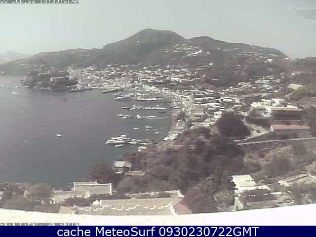 webcam Lipari Baia Messina