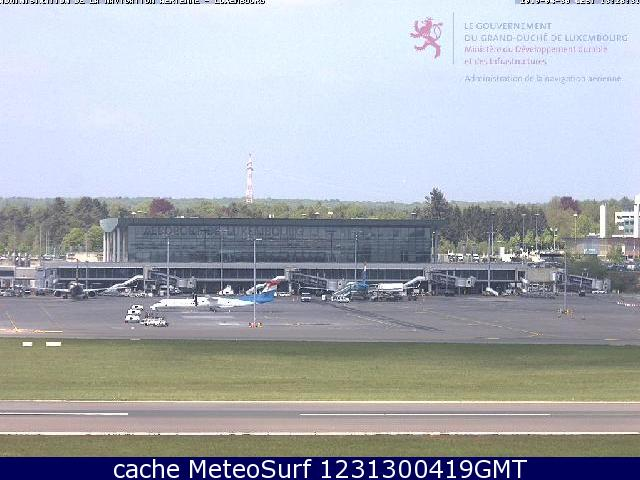 webcam Luxembourg Airport Luxemburgo