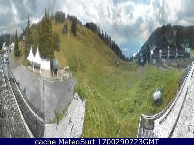 webcam Manigod Ski Haute Savoie