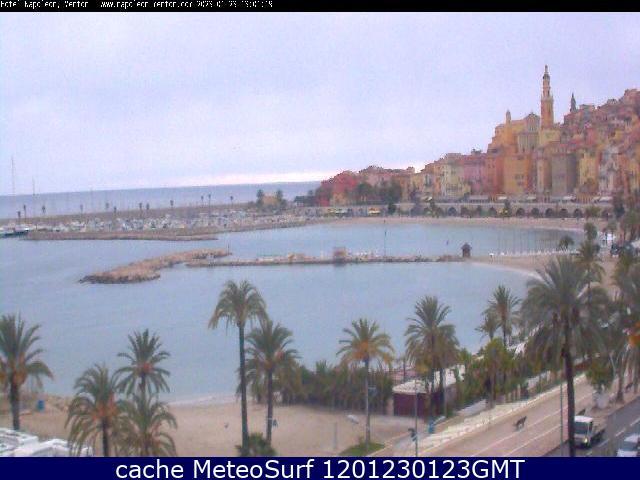 webcam Menton Hotel Alpes Maritimes