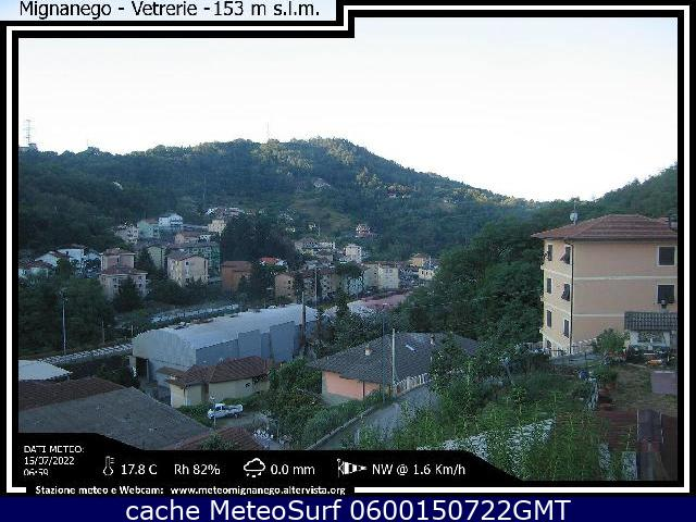 webcam Mignanego Genova