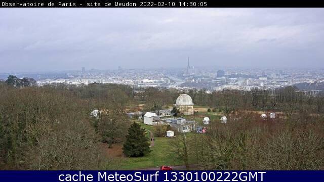webcam Paris Observatory Hauts de Seine