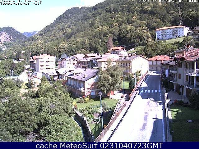 webcam Perrero Turín
