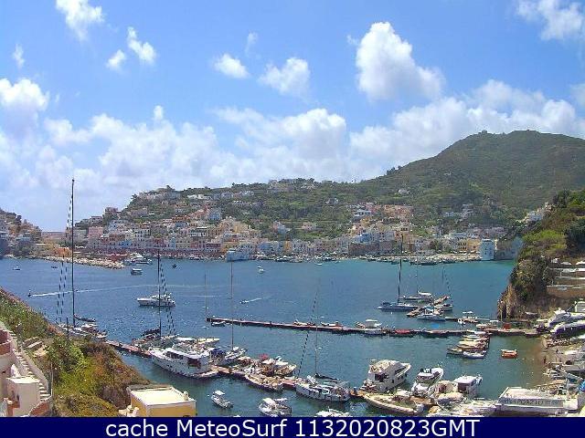 webcam Ponza Marina Latina