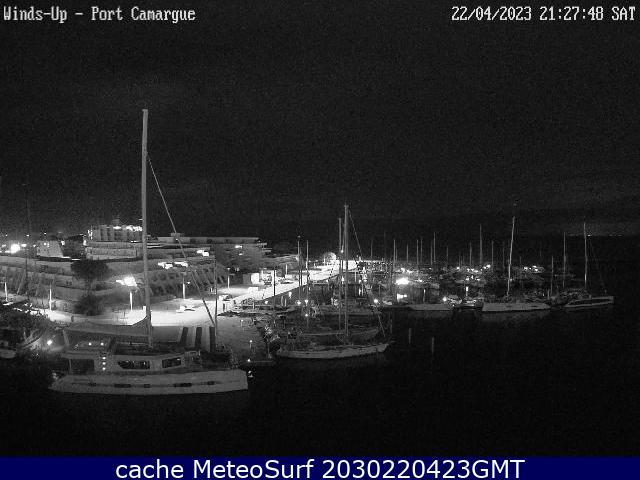 webcam Port Camargue Herault