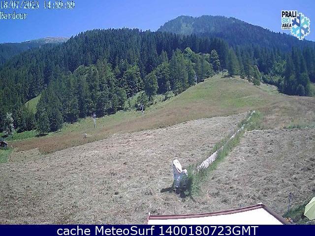 webcam Bric Rond Prali Ski Turín