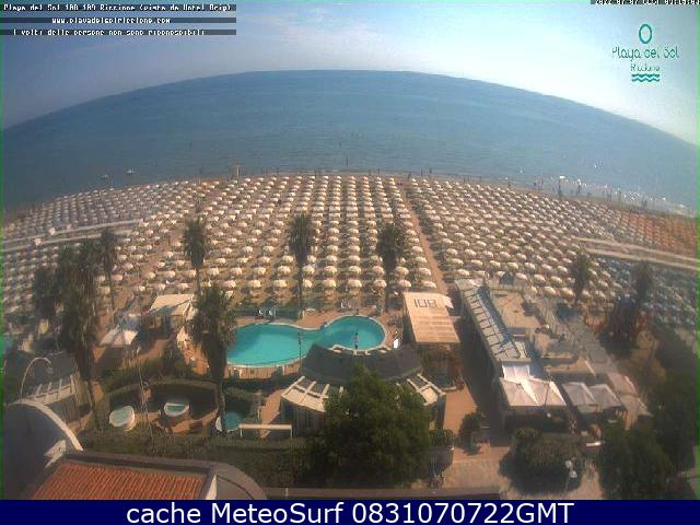 webcam Riccione Hotel Rimini