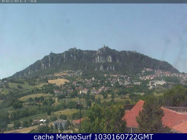 webcam Monte Titano