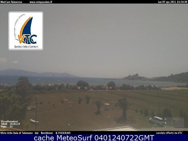 webcam Talamone Bay Grosseto