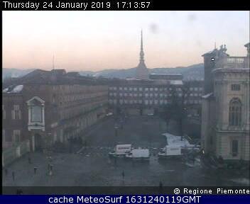 webcam Basilica Superga Torino Turín