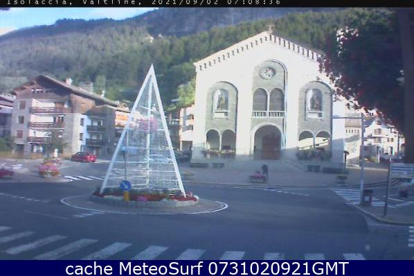 webcam Isolaccia Valdidentro Hotel Sondrio