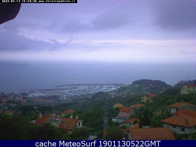webcam Varazze Panoramica Savona