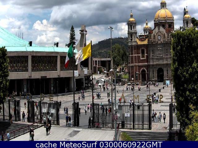 webcam Basílica de Guadalupe Gustavo A. Madero