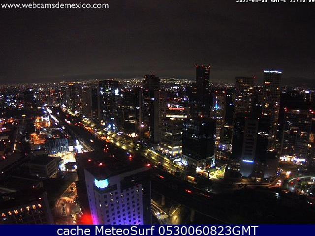 webcam Santa Fe México Álvaro Obregón