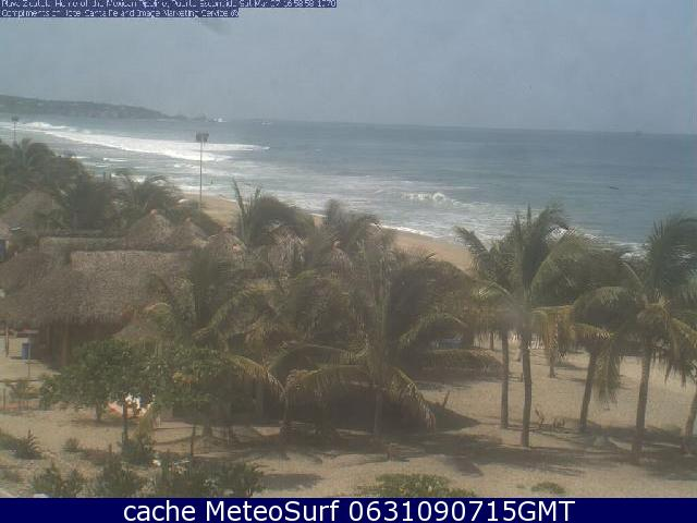 webcam Puerto Escondido Surf San Pedro Mixtepec