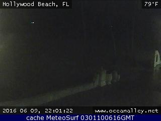 webcam Hollywood Beach  Miami
