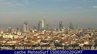 webcam Milano Milán