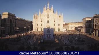 webcam Milano Duomo Milán