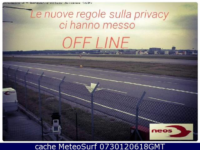 webcam Milano Malpensa Airport Varese