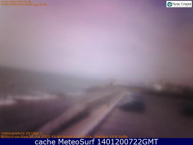 webcam Milford on Sea South East