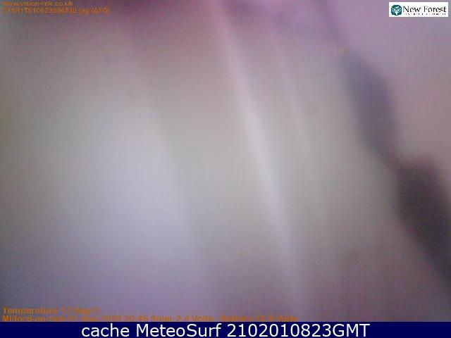 webcam Milford on Sea Hampshire