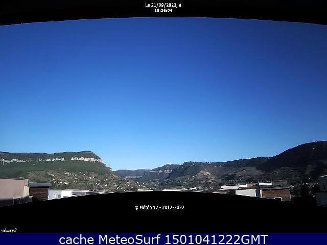 webcam Millau Aveyron