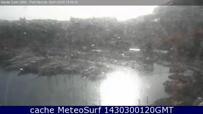 webcam Puerto de Monte Carlo