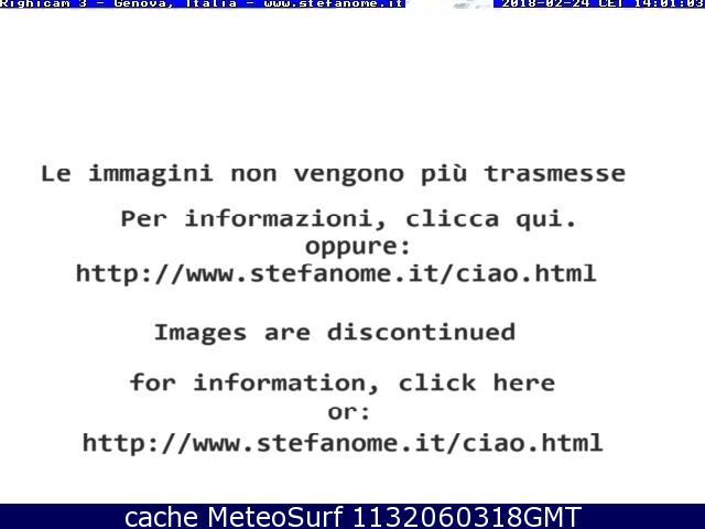 webcam Monte Fasce Genova