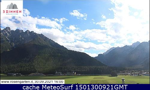 webcam Monte Paterno Paternkofel Bolzano