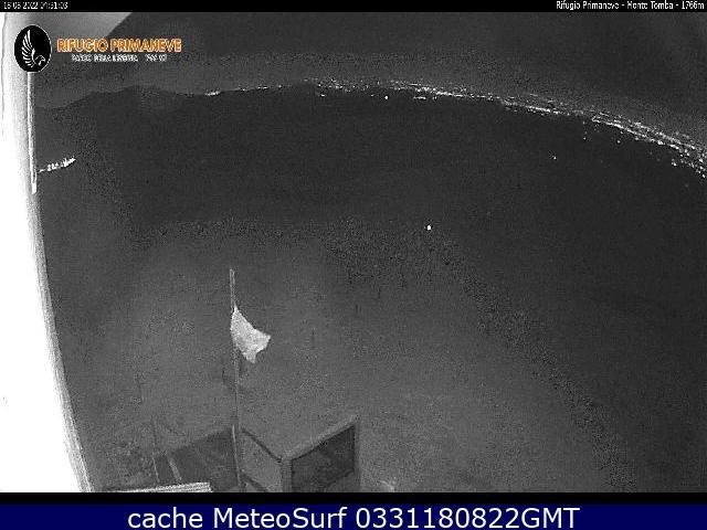 webcam Monte Tomba Rifugio Verona